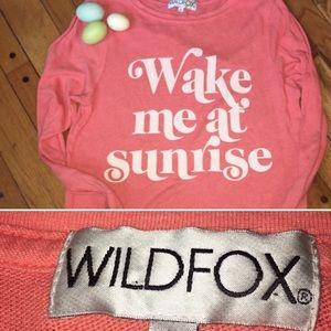 WILDFOX | oversized long sleeve beach pullover